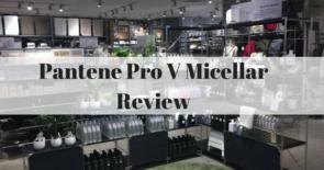 Pantene Pro V Micellar Review